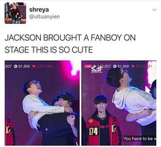 Jackson is the definition of 'cutest person on earth'