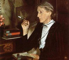 Retrato al completo de Virginia Woolf