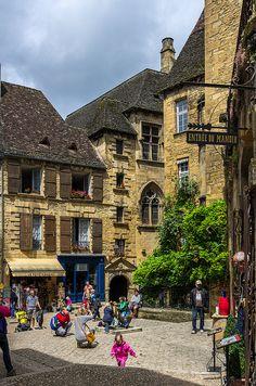Place des Oies - Sarlat - France