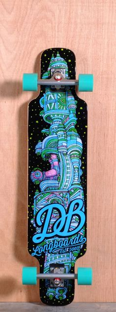 The DB Cosmonaut Longboard Complete