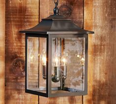 POTTERY BARN CLASSIC INDOOR/OUTDOOR PENDANT ~BRONZE~