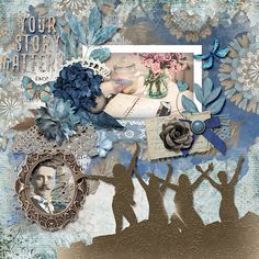 Your story matters Your Story, Digital Scrapbooking, Ss, Sisters, Layout, Templates, Simple, Beauty, Design