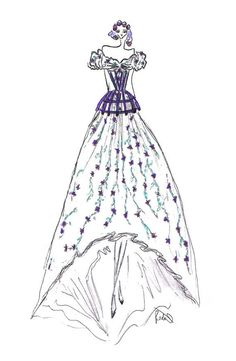 Zerlina-by-The Rodarte Sisters design for the Opera, Don Giovanni