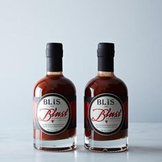 BLiS Blast Bourbon Barrel-Aged Hot Pepper Sauce, 2 Bottles: Hot hot heat. #Food52