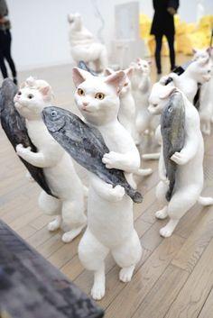 五美大展の「大猫行列」がたまらない可愛さだと注目を集める   netgeek