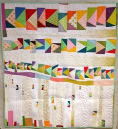 Hop Skip and a Jump, by Sarah Fielke for the Improv Handbook for Modern Quilters blog tour by Sherri Lynn Wood