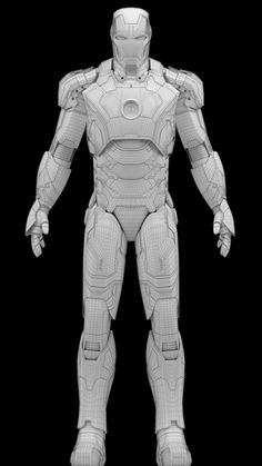 3D model - Iron Man Mark 42 - This model is for sale at turbosquid Zelda Master Sword, How To Make Iron, Armor Concept, Concept Art, Craft Iron, Super Anime, Iron Man Armor, Ironman, Batman Universe