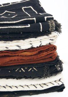 Mudcloth / Decken aus Afrika by boheme-living.com
