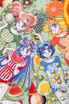 Ami, Rei, Mina, Makoto
