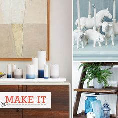 101 DIY Projects: From headboards to candlesticks and everything between