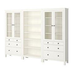 HEMNES säilytyskokonaisuus, valkoinen Ikea
