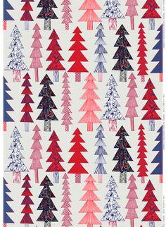 Kuusikossa pattern, design by Maija Louekari for Marimekko