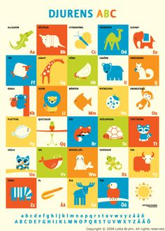 Cool illustration with simple animals. Reminds me of a quilt I had when I was a kid.