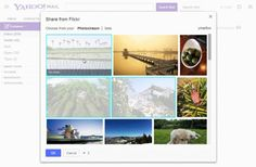Yahoo Mail adds simple Flickr photo sharing