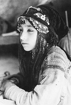"Eastern Afghanistan | Pashai girl | ©Karl Wutt.  From the publication ""Pashai: Landscapes, people and architecture"" / ""Pashai: Landschaft, Menschen, Architektur"""