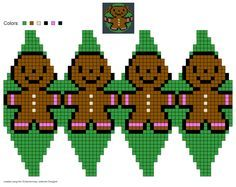 created using Schachenmayr Designer by Pawel Dolatowski Knit Christmas Ornaments, Handmade Christmas Decorations, Beaded Ornaments, Christmas Toys, Christmas Knitting, Christmas Stockings, Crochet Ball, Bead Crochet, Xmas Cross Stitch