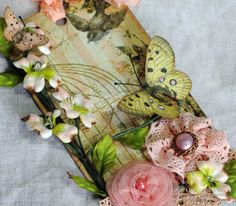 The Beary Scrap Design Team and Challenge Blog: Fluttering Butterflies