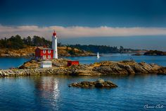 Fisgard Lighthouse is the oldest lighthouse on the west coast of Canada, in Victoria, British Columbia
