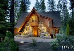 storybook cottage in the woods