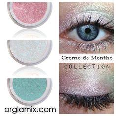 Creme de Menthe Collection - Mineral Makeup | Natural Mineral ...