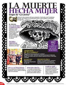 Conoce la obra maestra del gran grabador e ilustrador, José Guadalupe #Posada, que utilizó a la muerte para hacer crítica política a principios del siglo XX.