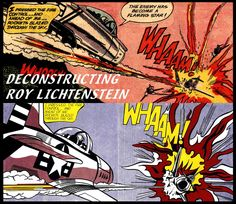 Inspiration for an upcoming project.  I've always been a big Lichtenstein fan!