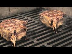 Rib Eye Steak with Red Wine Jus cooked on a Weber Genesis Cooking Restaurant, Barbecue, Red Wine, Steak, Eye, Youtube, Desserts, Food, Tailgate Desserts