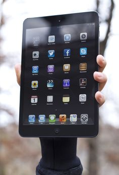 iPad Mini: this beauty gets an absurd amount of use.