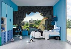 Minecraft+Bedroom+Decor+for+Big+Large+Room+Space+Area.jpg (564×388)