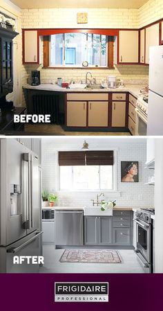 Check out this kitchen remodel from @chrislovesjulia featuring appliances from our Frigidaire Professional collection. Click to see how this exciting surprise renovation unfolded and the priceless reaction from the homeowners when their new space was revealed.
