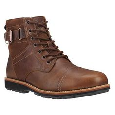 Timberland - Boots Brewstah Side Zip Homme - Marron
