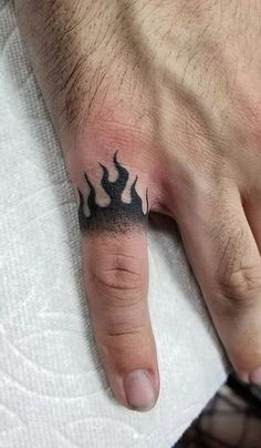 Middle Finger Tattoos, Hand And Finger Tattoos, Thumb Tattoos, Knuckle Tattoos, Small Hand Tattoos, Finger Tattoo Designs, Hand Tattoos For Guys, Small Tattoos For Guys, Cool Small Tattoos