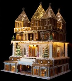 BeautifulNow is Beautiful Now | Edible Shelters: 10 Spectacular Gingerbread…