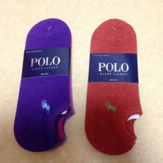 Polo Ralph Lauren Ankle Socks 6 Pair Cotton Spandex Socks Size 10-13 Unisex #401