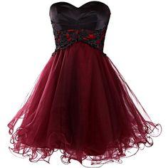 Dresstells Short Prom Dresses 2015 Homecoming Dress for Women ($159) ❤ liked on Polyvore featuring dresses, short dresses, vestidos, red, short mini dress, cocktail prom dress, red dress and red homecoming dresses