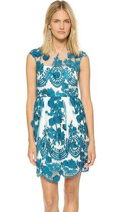 Marchesa Notte Lace Dress | SHOPBOP