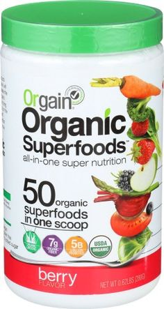 Orgain Organic Superfoods Berry 0.62 Pound 1 Count Reviews