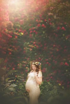 Saint Petersburg, Florida Maternity Photographer: Alicia's Enchanted Styled Maternity Session at Kanapaha Botanical Gardens — LAIA GORE PHOTOGRAPHY