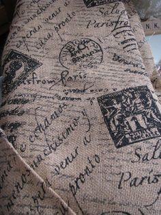 Wayside Treasures: Printed burlap at JoAnn Fabric!