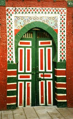 Africa | 'Door, Essaouira, 1995'.  Morocco  © ronramstew, via Flickr