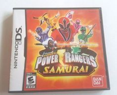 Nintendo DS Dsi Dsl Game POWER RANGERS SAMURAI Battle Megamonser Play as all 4