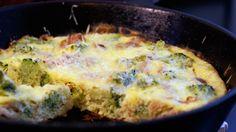 Broccoli Bacon Frittata Recipe