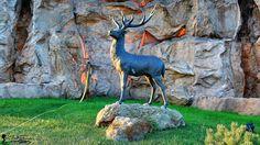 Orășelul Copiilor - Bucureşti Goats, Garden Sculpture, Outdoor Decor, Animals, Home Decor, Animales, Animaux, Interior Design, Animal
