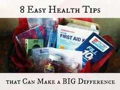 8 Easy Health Tips that Can Make a BIG Difference.