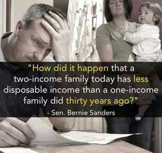 Corporate greed - Sen. Bernie Sanders