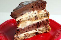 Old Fashioned  Layered Choc Cake