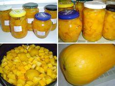Bude doma zájem o dýňový kompot? Přebývají-li dýně, proč to nevyzkoušet? Bude, Squash, Cantaloupe, Pumpkin, Fruit, Food, Pineapple, Pumpkins, Pumpkins