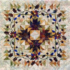 Gooseberry Quilt Pattern by Judy Niemeyer. Need to start making my quilts about… Star Quilts, Mini Quilts, Quilt Blocks, Scrappy Quilts, Paper Piecing Patterns, Quilt Patterns, Block Patterns, Pattern Paper, Quilting Projects
