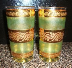 This is a Libbey Starlyte glass (not Culver).  Probably one of the most misidentified as a Culver pattern.