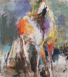 dawn emerson --- harlequin horse